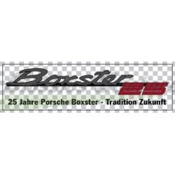 Logo Boxster 25 ans