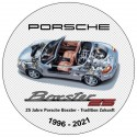 25 years boxster sticker