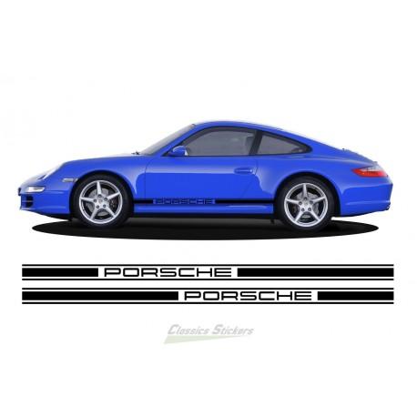 Porsche modern side bands