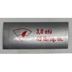 3,0 Atu label