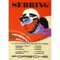 Affiche Sebring 1958