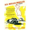 Mille Miglia motor racing poster