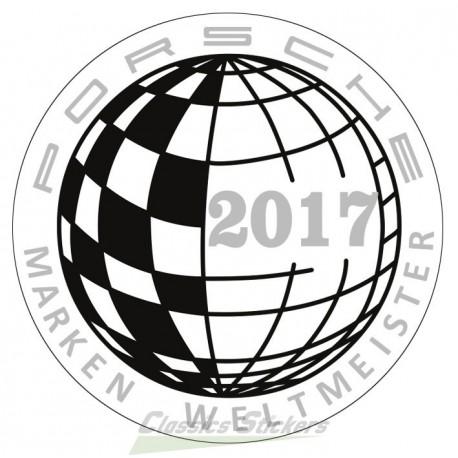 Champion du monde 2017 / Marken Weltmeister