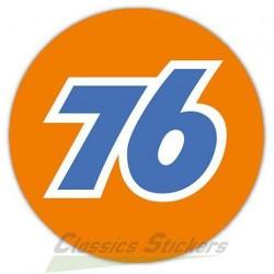 76 oil sticker