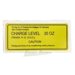 charge level label for 924 and 944