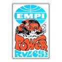 Autocollant EMPI POWER RULES