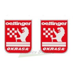 Kit 2 stickers Oettinger