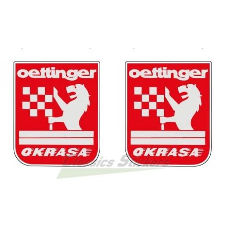 Oettinger stickers kit