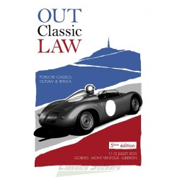 Affiche sortie Out Classic Law 2015