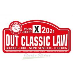 Sticker plaque OCL 2021
