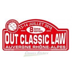 OCL 2019 rally plate
