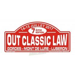 OCL 2017 rally plate