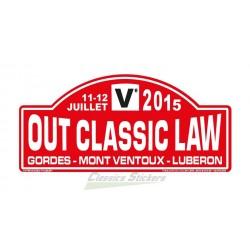 OCL 2015 rally plate