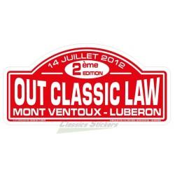Plaque OCL 2012
