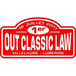 OCL 2011 rally plate