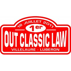 Plaque OCL 2011