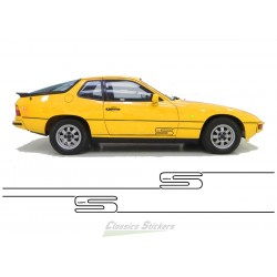 Bandes Porsche 924 S