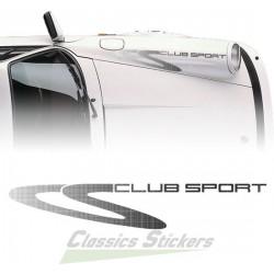 Lettrage CS Clubsport 911