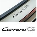 Carrera CS lettering