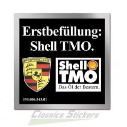 étiquette shell TMO