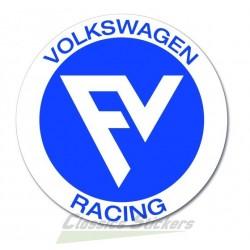 FV racing sticker