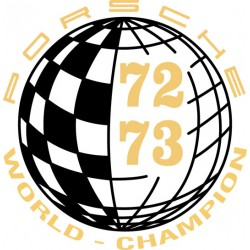Champion du monde 72-73 / World Champion