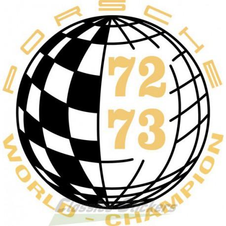 Champion du monde 72-73 / World Champion
