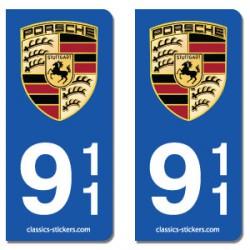 Blasons Porsche 911
