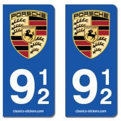 Blasons Porsche 912