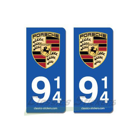 Blasons Porsche 914