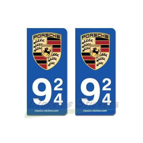 Blasons Porsche 924