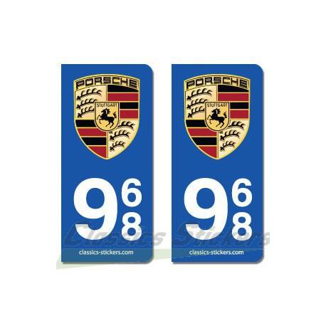 Blasons Porsche 968