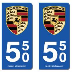 Blasons Porsche 550