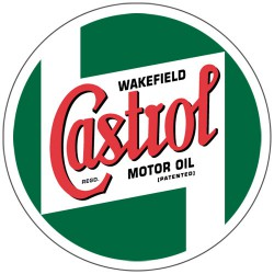 Kit 2 stickers Castrol