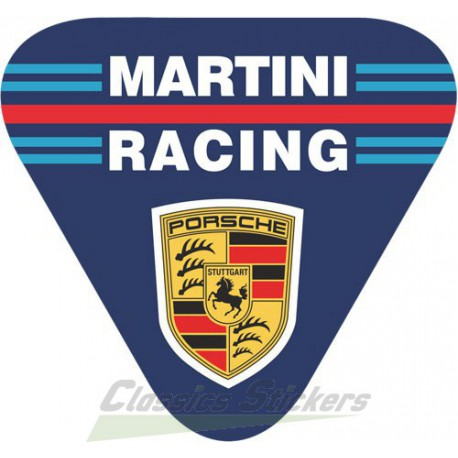 Logo Porsche Martini