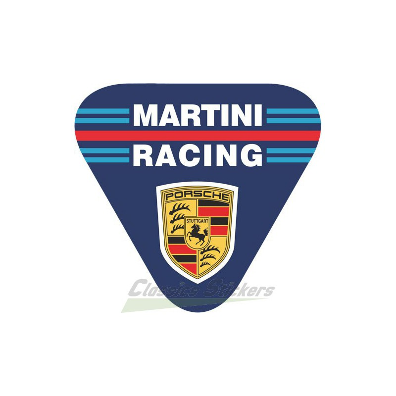 Porsche Martini Classics Stickers