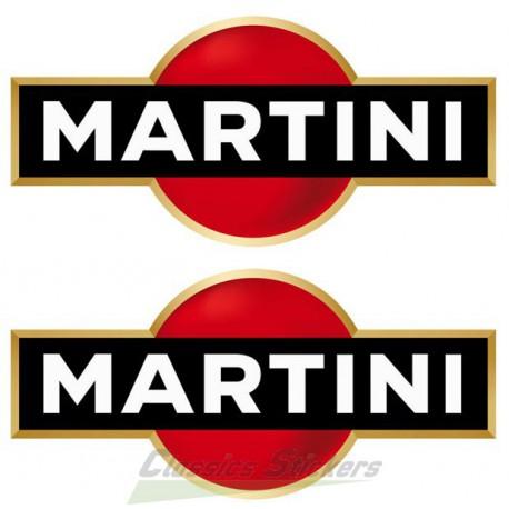 Kit 2 stickers Martini
