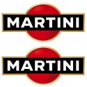 Kit stickers Martini