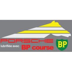 Porsche lubrifiée avec BP
