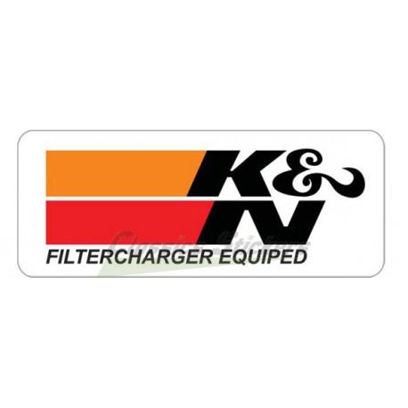 Logo K&N filtercharged