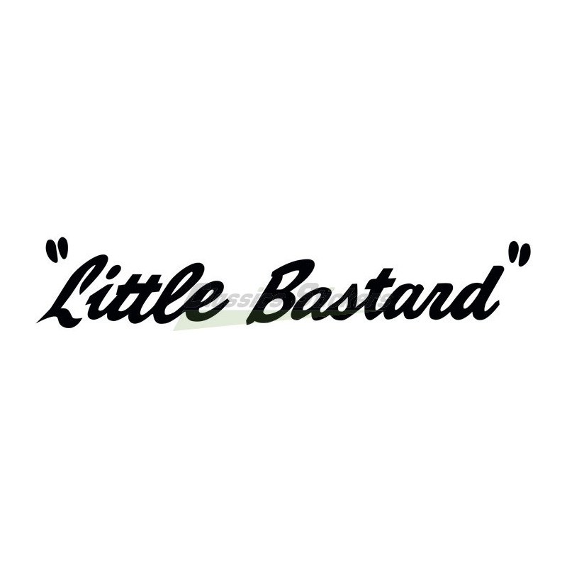 Lettrage Little Bastard
