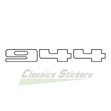Sticker lettrage 944