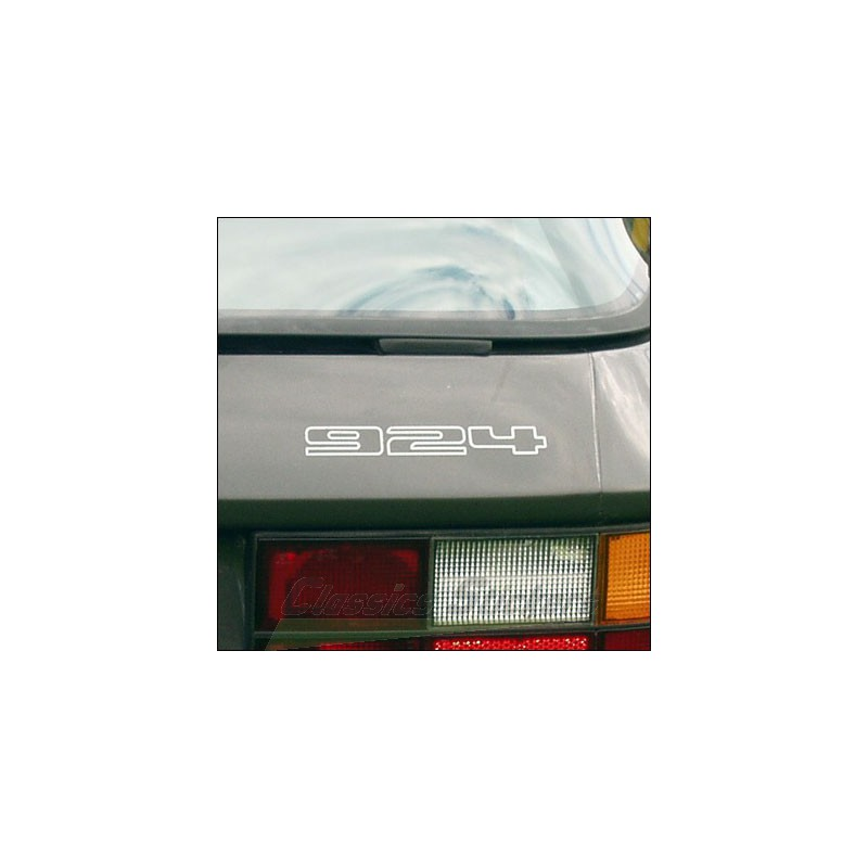 Rear Decal 924