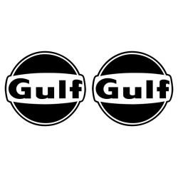 Logo Gulf Black and White