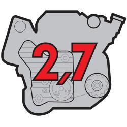 Porsche Engine PMA 2,7