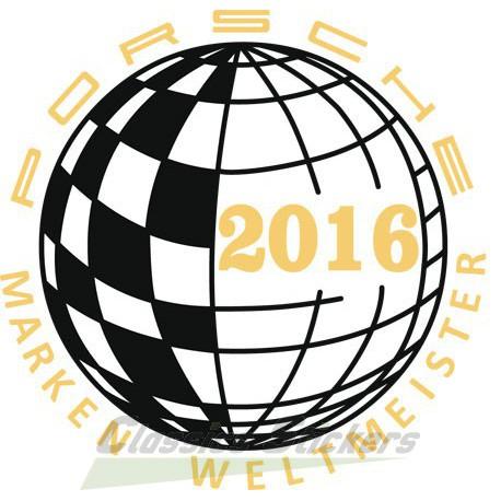 Champion du monde 2016 / Marken Weltmeister