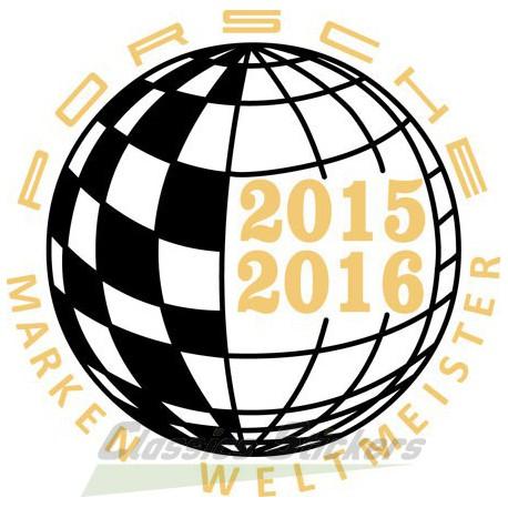 Champion du monde 2015-2016 / Marken Weltmeister
