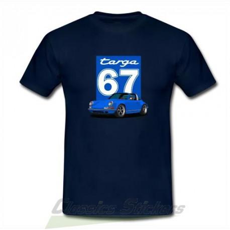 Tshirt Targa bleu