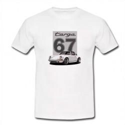 Tshirt Targa blanc