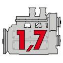 Porsche Engine 1,7 - Flat4